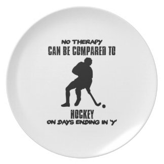 Trending and awesome Hockey designs Plate