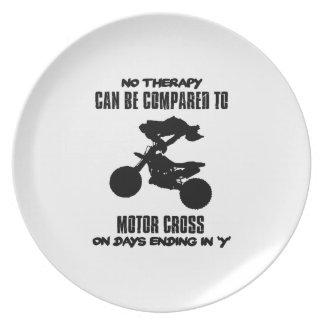 Trending and awesome Motor Crossing designs Party Plates