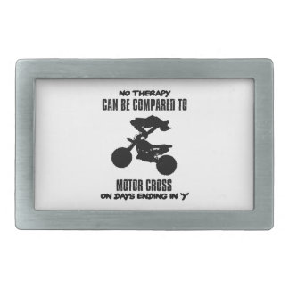 Trending and awesome Motor Crossing designs Rectangular Belt Buckle