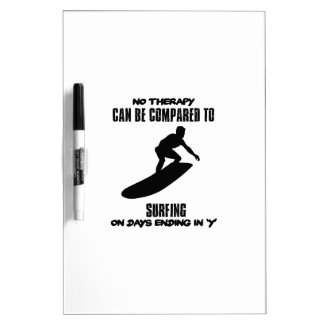 Trending and awesome Surfing designs Dry Erase Board