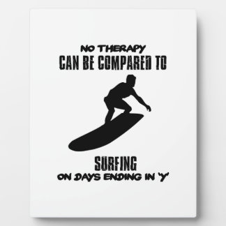 Trending and awesome Surfing designs Plaque
