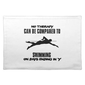 Trending and awesome Swimming designs Placemat