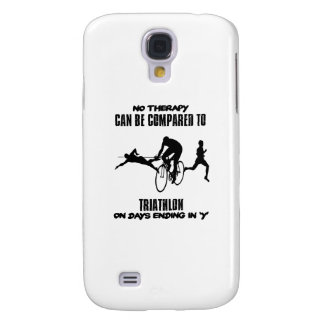 Trending and awesome TRIATHLON designs Galaxy S4 Covers