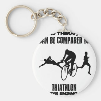 Trending and awesome TRIATHLON designs Key Ring