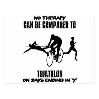 Trending and awesome TRIATHLON designs Postcard