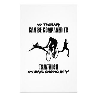 Trending and awesome TRIATHLON designs Stationery