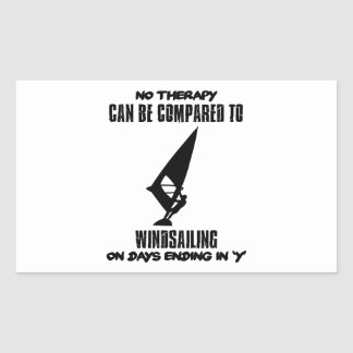 Trending and awesome Wind-sailing designs Rectangular Sticker