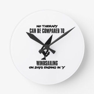 Trending and awesome Wind-sailing designs Wall Clocks