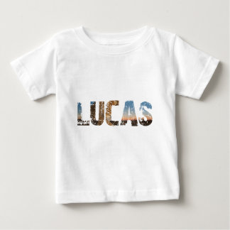 TRENDING and cool Lucas name designs Baby T-Shirt