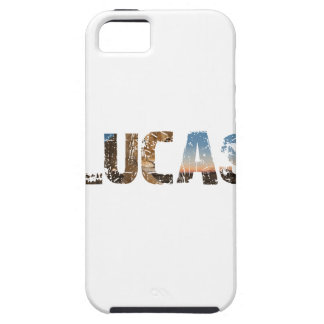 TRENDING and cool Lucas name designs Tough iPhone 5 Case