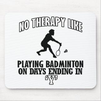 Trending Badminton designs Mouse Pad