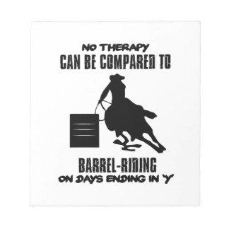 Trending Barrel-riding designs Notepad