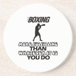 Trending Boxing DESIGNS Coaster