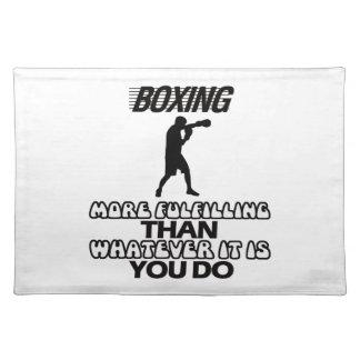 Trending Boxing DESIGNS Place Mats