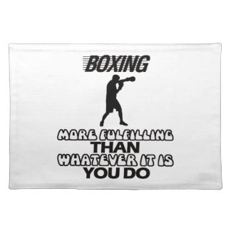 Trending Boxing DESIGNS Placemat