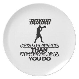 Trending Boxing DESIGNS Plate
