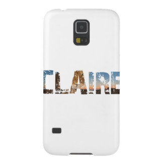 TRENDING CLAIRE NAME DESIGNS GALAXY S5 CASES