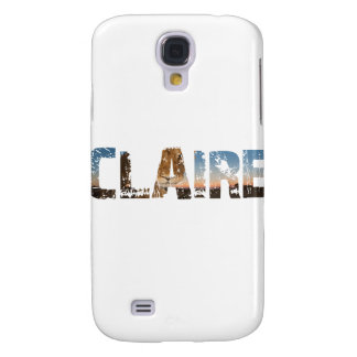 TRENDING CLAIRE NAME DESIGNS SAMSUNG GALAXY S4 COVER