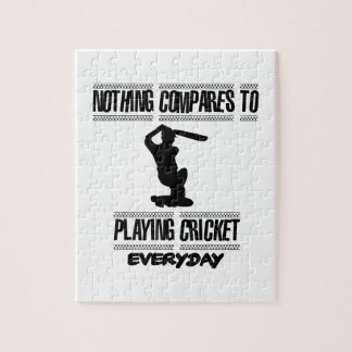 Trending cool Cricket designs Jigsaw Puzzle