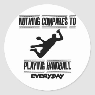 Trending cool Handball designs Classic Round Sticker