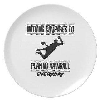 Trending cool Handball designs Plate