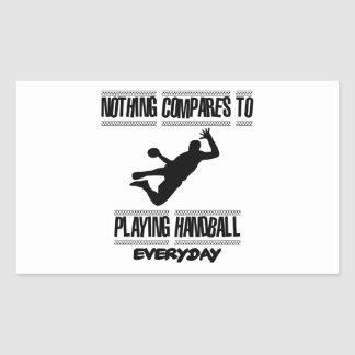 Trending cool Handball designs Rectangular Sticker