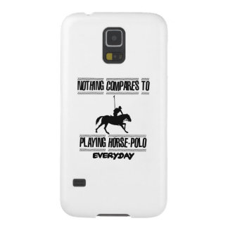 Trending cool Horse-polo designs Case For Galaxy S5
