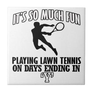 Trending cool Lawn-tennis designs Tile