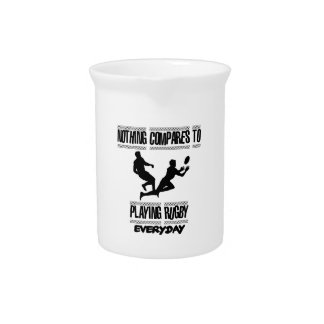 Trending cool Rugby designs Pitcher