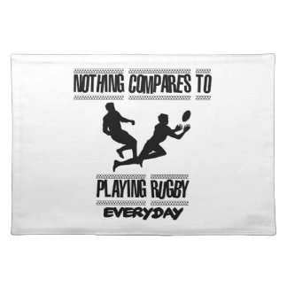 Trending cool Rugby designs Placemat
