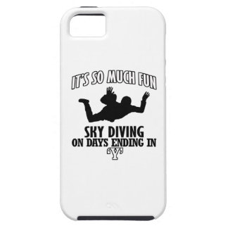 Trending cool sky-diving designs case for the iPhone 5