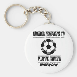 Trending cool Soccer designs Basic Round Button Key Ring