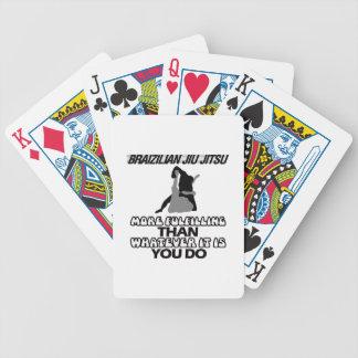 Trending Jiu Jitsu DESIGNS Bicycle Playing Cards