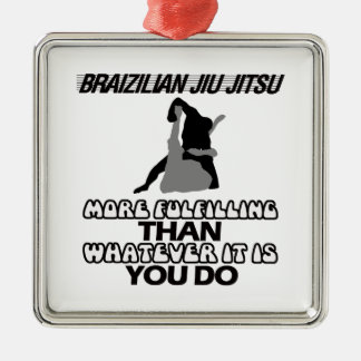 Trending Jiu Jitsu DESIGNS Metal Ornament