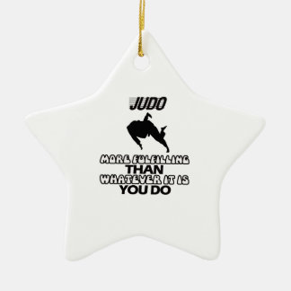Trending Judo DESIGNS Ceramic Ornament