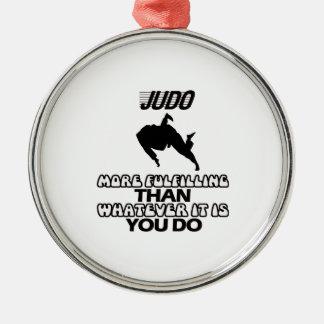 Trending Judo DESIGNS Metal Ornament