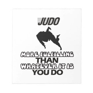 Trending Judo DESIGNS Notepad
