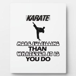 Trending Karate DESIGNS Plaque
