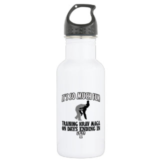 Trending Krav Maga designs 532 Ml Water Bottle