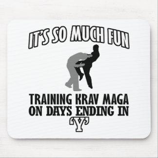 Trending Krav Maga designs Mouse Pad