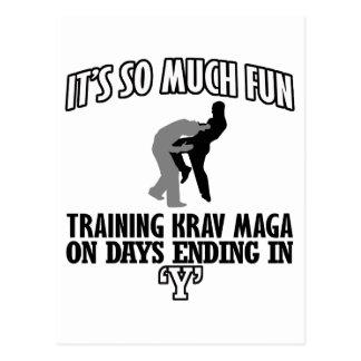 Trending Krav Maga designs Postcard