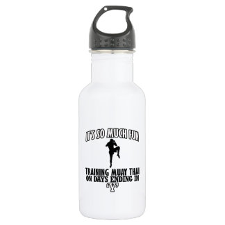 Trending Muay thai designs 532 Ml Water Bottle