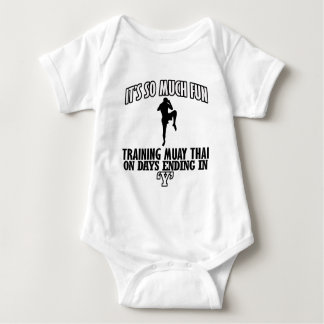 Trending Muay thai designs Baby Bodysuit