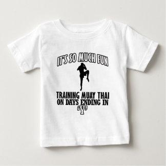 Trending Muay thai designs Baby T-Shirt
