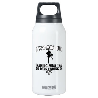 Trending Muay thai designs Insulated Water Bottle