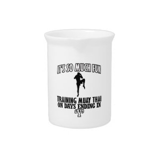 Trending Muay thai designs Pitcher