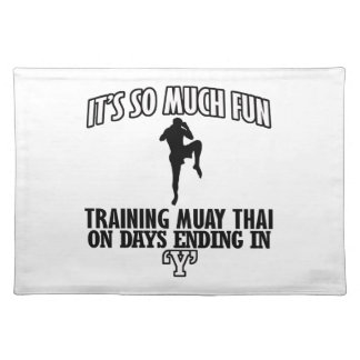 Trending Muay thai designs Placemat