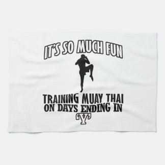 Trending Muay thai designs Tea Towel