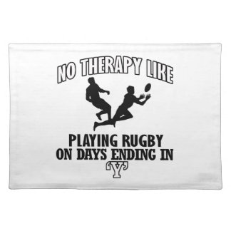 Trending Rugby designs Placemat
