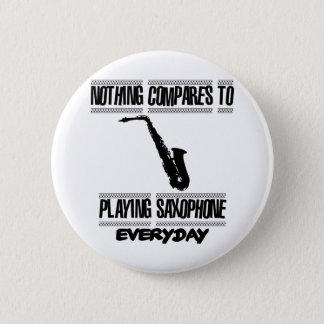 Trending Saxophone designs 6 Cm Round Badge